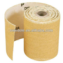 A/O(gold) sanding paper roll