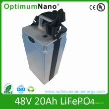 """Bateria do """"trotinette"""" do preço de fábrica LiFePO4 48V 20ah com BMS"""