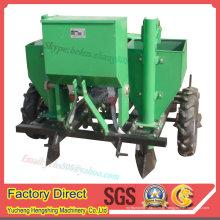 Trator de plantador de batata de máquina de fazenda arrastou 2 linhas de batata semeadora