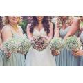 Artificial Flowers Plastic Babysbreath Wedding Decorations