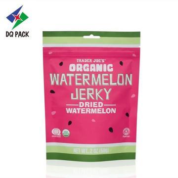 Bolsa de plástico de frutas secas con cremallera