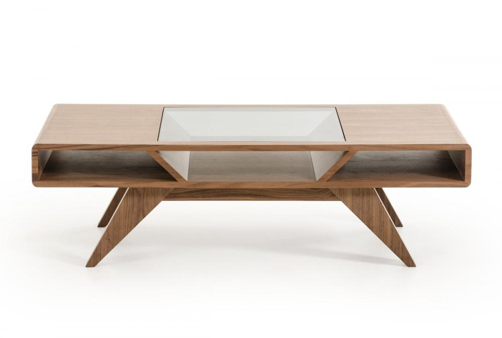 Nova Mid-Century Walnut Coffee Table
