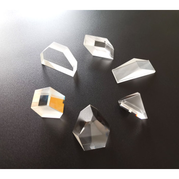 Personnalisez le mini-prisme micro prisme précis poli
