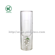 Double Wall Water Glass Bottle (dia: 5 *16 110ML)
