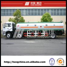 Le nouveau transport de réservoir de carburant (HZZ5254GJY) avec la haute performance se vendent bien partout dans le monde