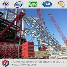 Sistema transportador de estrutura metálica leve pré-fabricada