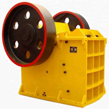Single Toggle Stone Jaw Crusher Machine