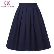 Винтажный Грейс Карин occident женщин Ретро короткий хлопок юбка 50-х годов 21 моделей CL6294-21