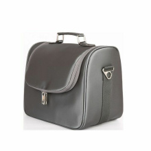 Mens Pu Läder Travel Case Toalettsaker Vanity Bag