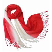 Градиентный красочный акриловый шарф из пашмины