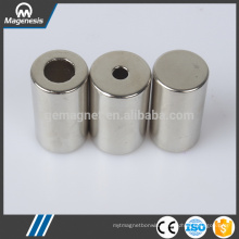 China gold supplier environmental ndfeb rubber magnet pot