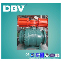 Dpe Double Piston Effect Wcb Trunnion Mounted Ball Valve