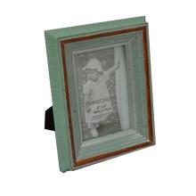 Cadre photo classique en bois vintage pour Home Deco