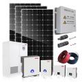 Système de générateur d'énergie de panneau solaire 20kw