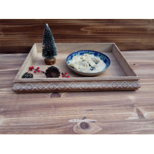 OEM/ODM for Black Wooden Plate Antique Style Wooden Plate supply to Bermuda Factory