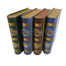 custom tin boxes Wholesale Manufacturer Book Shaped Custom Printed Tin Box For Biscuit Packaging