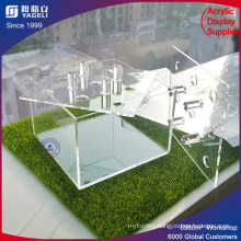 Waterproof Acrylic Flower Display Box with Dividers