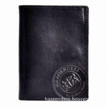 Genuine cowhide leather credit card, wallet & purse for men, 2014 new arrival & best selling