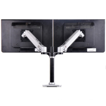 Aluminum Alloy Sit Stand Double China Lcd Monitor Arm Dual Bracket