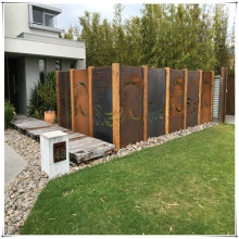 Outdoor Metal Garden Screen