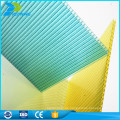 Leichtes feuerfestes dekoratives Mehrschicht-Polycarbonat-Durchlichtblechblatt