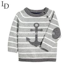 Tricot de coton pour enfants Tricot de pull tricoté Tricot de coton pour bébé