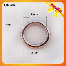 OR04 Venda por atacado da mala O acessórios e acessórios, pequenos anéis d
