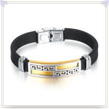 Moda jóias de borracha bracelete de silicone pulseira (lb505)