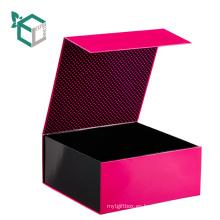 Matt Black Rigid Custom Carton Spot Spot UV Bathish Bath Box Design