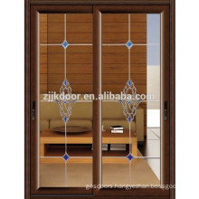 JK-AW9103	sliding aluminum alloy glass interior door