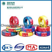 Elektrischer Draht CU / PVC