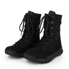 Good Quality Black Suede Army Combat Boots Military Tactical Boots (2009)