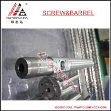 Einschneckenzylinder für Granulatormaschine