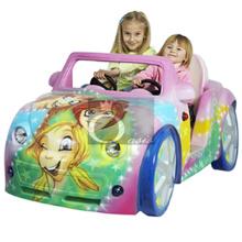 Kiddie Ride, voiture pour enfants (femme rose)