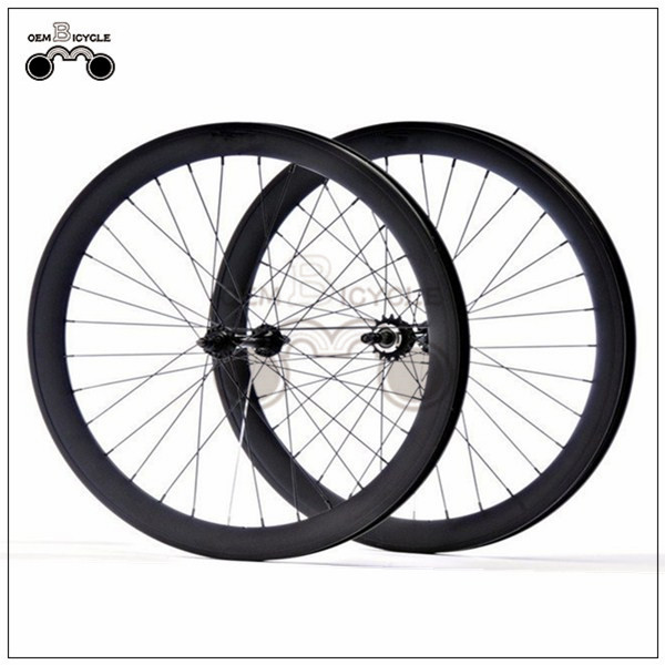 700C 40mm fix double-walled aluminum wheelset1