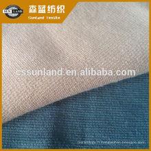 tissu romain tricoté en rayonne de polyester et spandex pour le vêtement