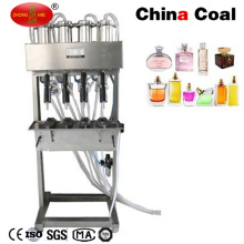 Semi Automatic 4-Heads Vacuum Perfume Filler Liquid Filling Machine