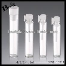 Recorrido de 1.8 / 2/3/4 ml de botella de perfume; botella de perfume de viaje