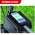 Водонепроницаемый велосипед сумка велосипедов Рама сумка с телефона карман (ЭКУ-BB001)