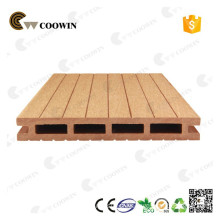 WPC hollow decking for garden fire-resistant wpc flooring for public                                                                         Quality Assured