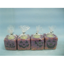 Artisanat en céramique en forme de bougie de Halloween (LOE2372-A5-5z)