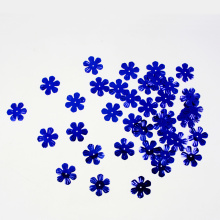 Blue Flower shape Sequin