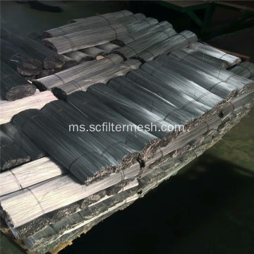 Galvanized / PVC Straight Cutting Wire Used In Construction