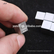 china top ten selling products high purity high quality tungsten cube