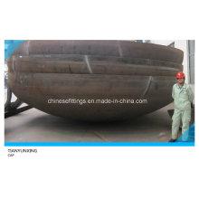 Raccords de tuyaux Tête ellipsoïdale en acier au carbone soudé à grande hauteur