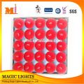 Custom Made Tea Light Velas Embalagem Caixa De Presente De PVC