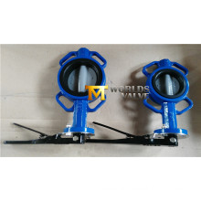 Nylon Coating Disc Wafer Butterfly Valve