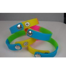 Waterproof Silicon Wristband Soft Wrist Strap (GZHY-SW-005)