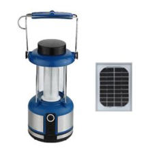 Lanterna solar para uso urgente