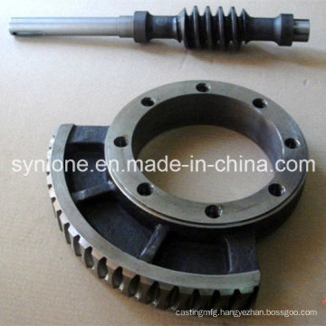 Customized Precision Machining Worm Gear and Shaft